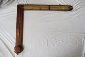 Antique English Charles Howorth Angle Barometer